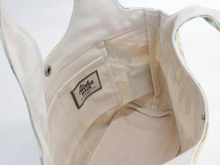 フララニ(Hula Lani)キャンバストートバッグ ラウアエリーフ パッション