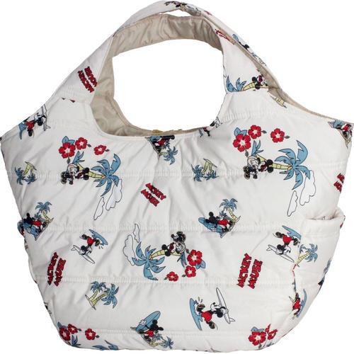 フララニ(Hula Lani)Mサイズトートバッグ ディズニーコラボ ミッキーマウスホワイト