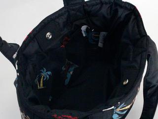 フララニ(Hula Lani)ミニミニトートバッグ ディズニーコラボ ミッキーマウスブラック