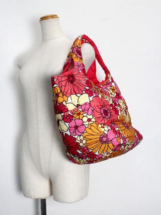 フララニ(Hula Lani)Mサイズトートバッグ フラワーワークピンク