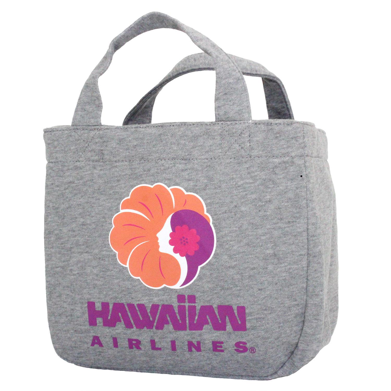 ハワイアンエアライン(HAWAIIAN AIRLINES)トートバッグ グレー
