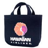 ハワイアンエアライン(HAWAIIAN AIRLINES)トートバッグ ネイビー