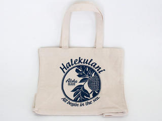Aloha MADE(アロハメイド) 帆布トートバッグ ハレクラニ