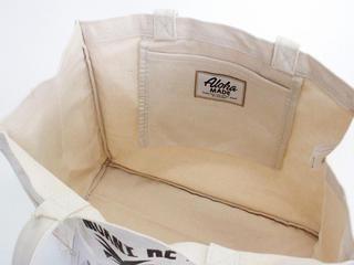 Aloha MADE(アロハメイド) 帆布トートバッグ モアニケアラ
