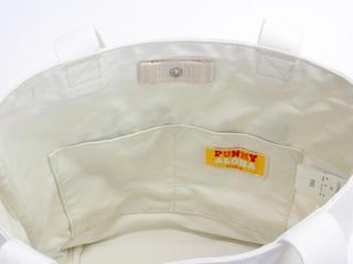 パンキーアロハ(Punky Aloha)帆布切り替えトートバッグ YEL2