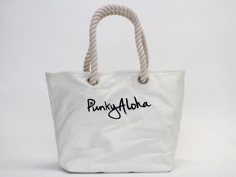 パンキーアロハ(Punky Aloha)帆布ロープトートバッグ ORG