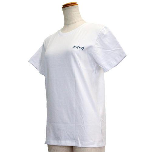 ハレイワ公式Tシャツ アロハデイ ホワイト