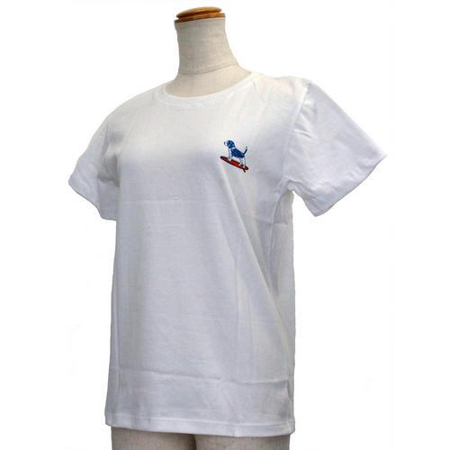 ハレイワ公式Tシャツ ALOHAドッグ ホワイト