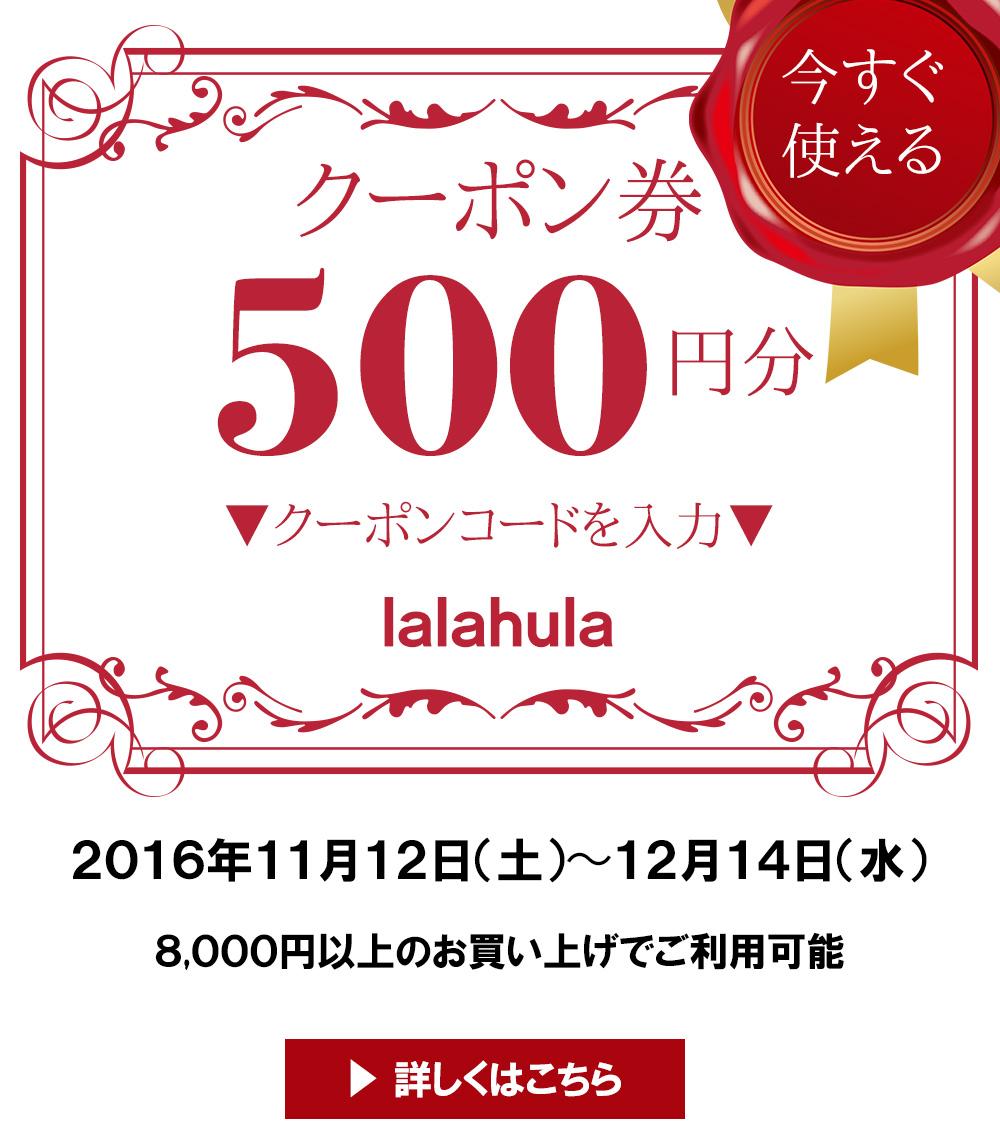500円分クーポン進呈キャンペーン