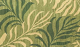 ハワイアン ラグ(平織り) パームリーフ(セージグリーン)