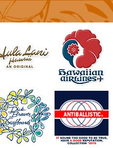 ハワイアンブランドのロゴ