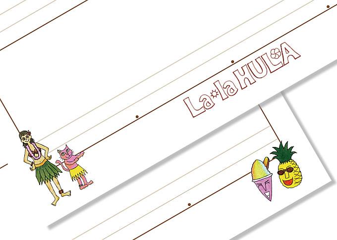 ララフラフラノート キャラクターデザイン