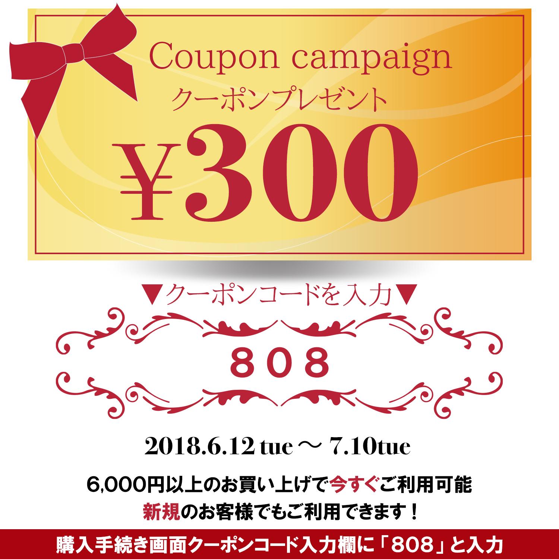 300円クーポンプレゼント!